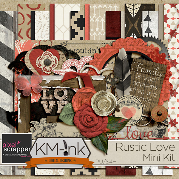 Rustic Love Kit